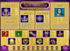 tarot treasures spielen