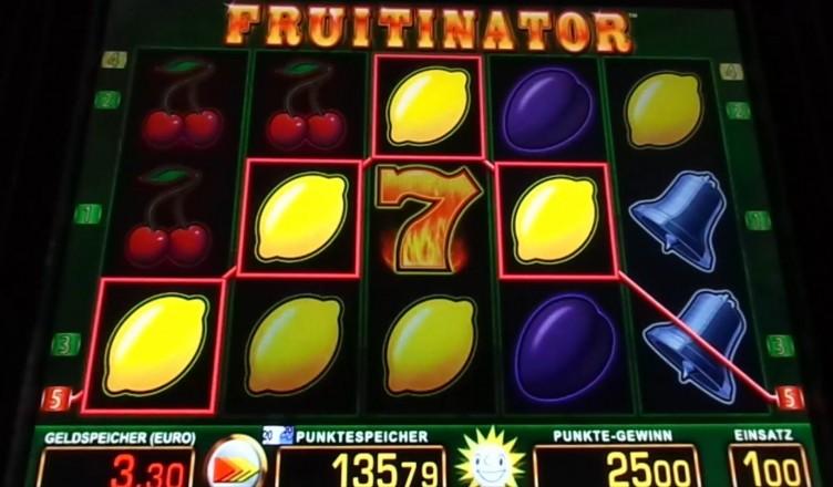 fruitinator slider