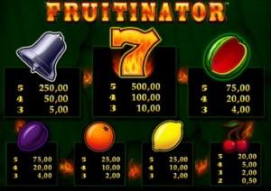 fruitinator spielen